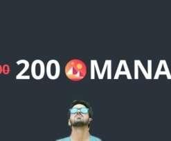 decentraland mana 200