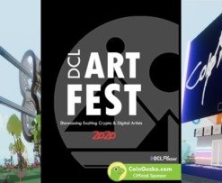 Decentraland art festival