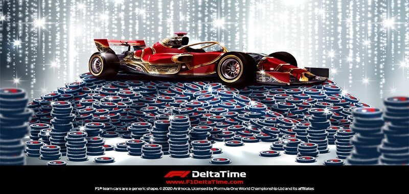 F1 Delta Time Car Staking