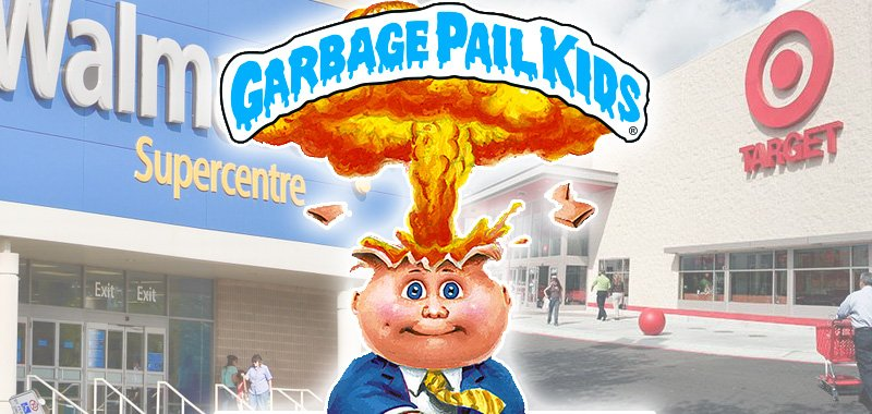 garbage pail kids wallmart