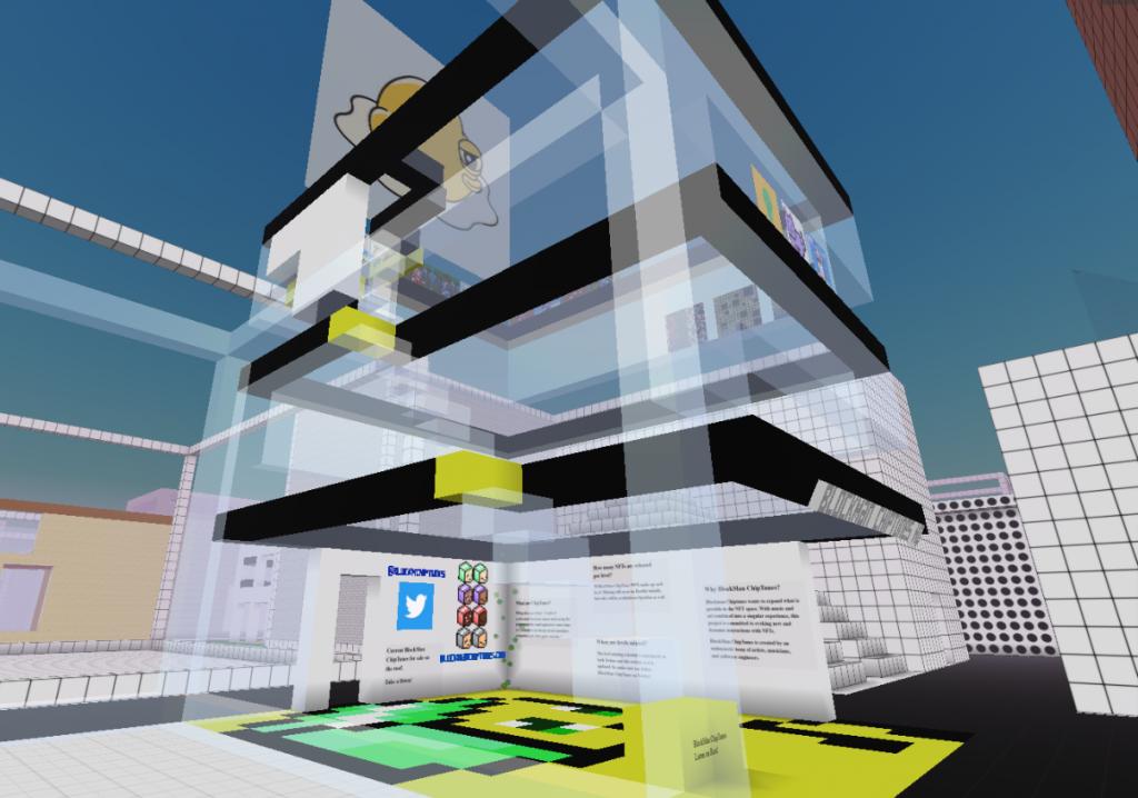 blockman chiptunes cryptovoxels