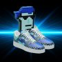 New CryptoPunk Snazzy Sneakers, Courtesy of RTFKT.