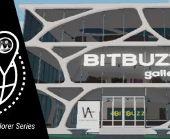bitbuzz gallery decentraland