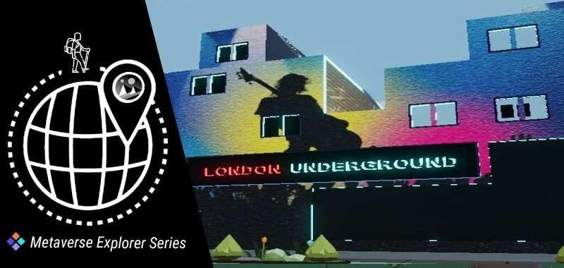 london underground decentraland